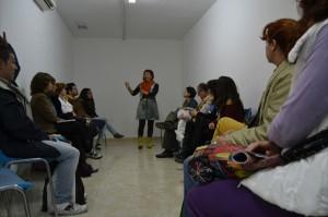 """Conferencia de """"CoachingYoga"""" en el Festival Arte Sano, Nov. 2012"""