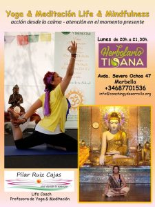 YogaMeditación-y-mindfulness-CARTEL TISANA 2016